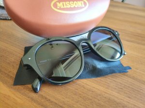 Missoni Panto Glasses black synthetic material