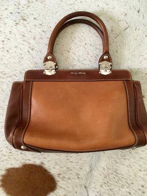 Miu Miu Carry Bag brown-camel