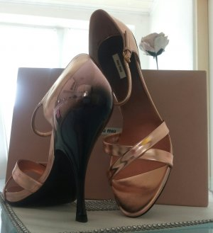 original* miu miu * by Prada high heels