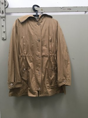 Original Miu Miu Jacke Übergangsjacke Trench Kapuze Gr. 38 Baumwolle