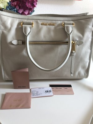Original Miu Miu Vitello Shine Tasche
