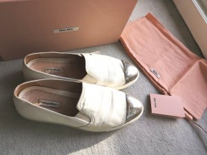 Miu Miu Slippers white