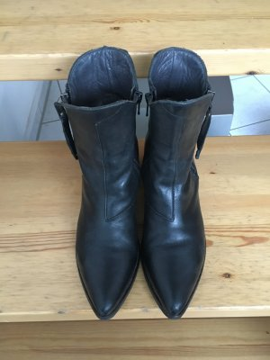 Original MOMA Boots, schwarz, Gr. 37
