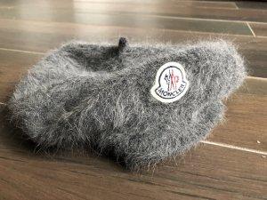 Original Moncler Barett Baskenmütze Cashmere Top Luxus Blogger