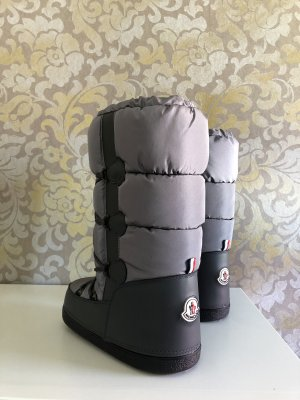 Moncler Snow Boots silver-colored-light grey