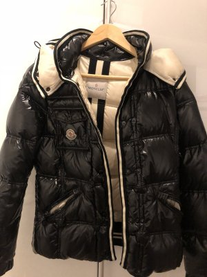 Moncler Down Jacket black-white