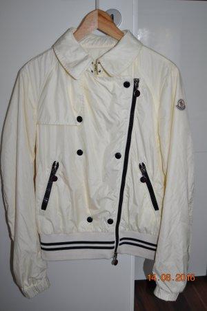 Original  MONCLER  Jacke Übergangsjacke in Gr. 38 Farbe Creme