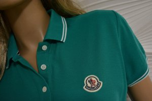 Moncler Polo multicolore coton