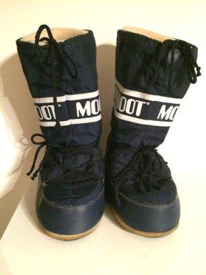 Original Moon Boots Winterstiefel blau Gr. 40-43
