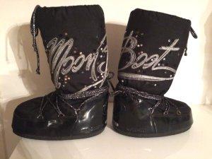 Original Moon Boots Winterstiefel schwarz Gr. 35-38