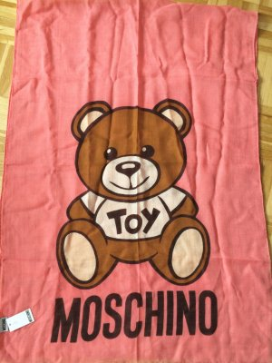 Moschino Fazzoletto da collo multicolore Seta