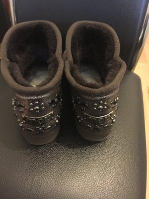 Original mou boots mit echtem Lammfell