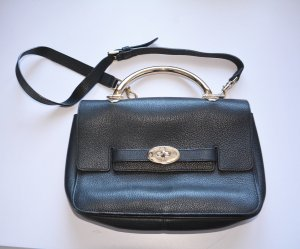 Mulberry Carry Bag black-gold-colored leather