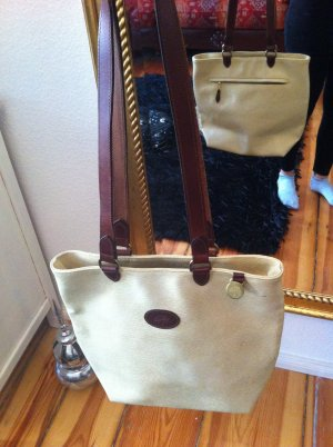 Original MULBERRY Handtasche creme