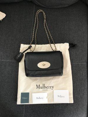 Mulberry Schoudertas zwart-goud Leer