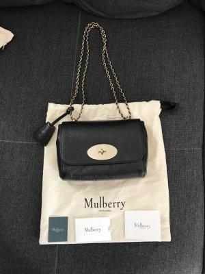 Mulberry Borsa a tracolla nero-oro Pelle