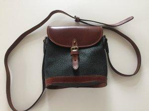 Original Mulberry Scotchgrain Tasche Leder schwarz braun
