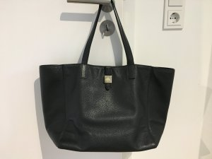 Mulberry Handbag black-gold-colored leather