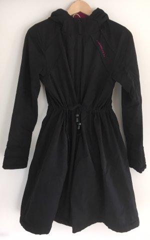 Naketano Manteau à capuche noir-violet