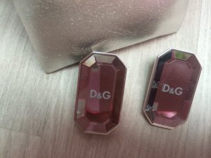 Original NEU Dolce & Gabbana D&G Ohrringe Ohrstecker Kristall silber