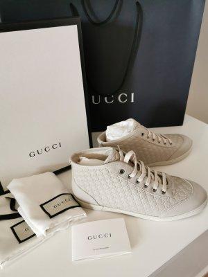 Original NEU GUCCI Sneaker Leder GG Guccissima