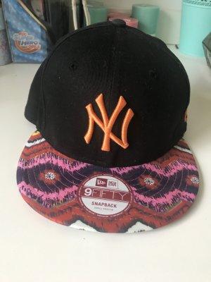 Original New Era Cappy snapback Baseballkappe Aztekenmuster bunt