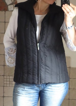 Quilted Gilet black polyester