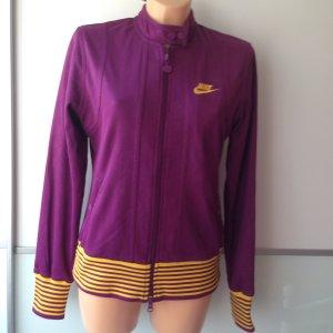 Nike Giacca viola-giallo-oro