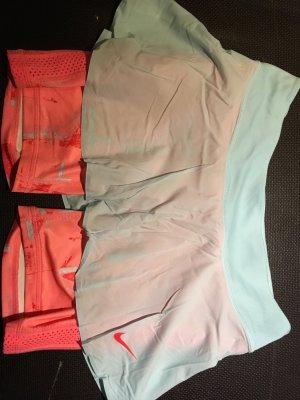 Nike Skirt baby blue-salmon