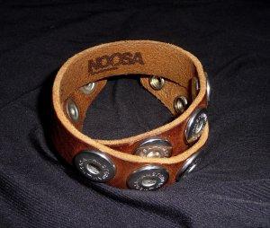 Original NOOSA Armband Double Braun
