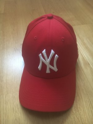 New Era Baseballpet rood Katoen