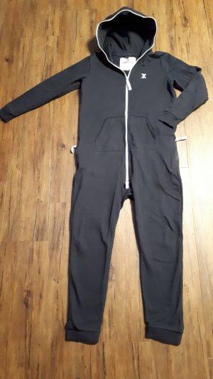 Original OnePiece Jumpsuit / Onsie marineblau Gr. M