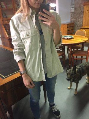 Original Otto Kern Hemd Bluse Jacke Gr. L beige
