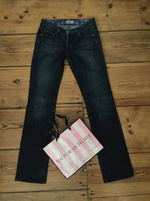 Original Paige Jeans Gr. 25 Denim dunkelblau