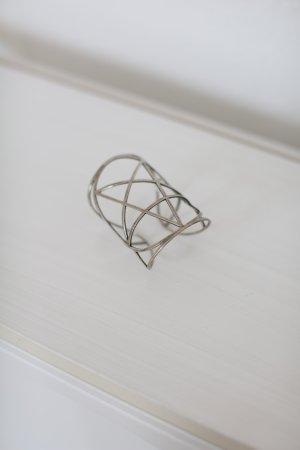 Original Pamela Love Pentagram Armspange Cuff Antik Silber