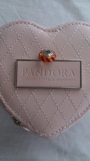 original Pandora Anhänger in rot/ gelb- orange