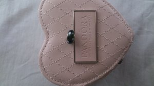 original Pandora Anhänger in schwarz mit weißen Punkten
