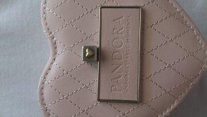 original Pandora Anhänger in silber mit goldenem Herz
