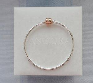 original Pandora Armband 580702-20 für Charm Anhänger 925 Silber