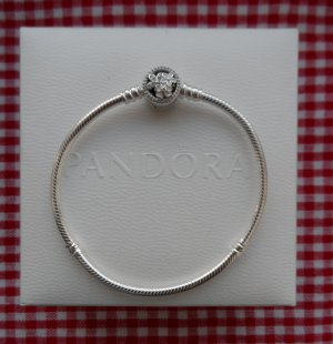 original PANDORA Armband 590744CZ-20 Länge 20 cm aus 925 Silber NEU m. Kästchen
