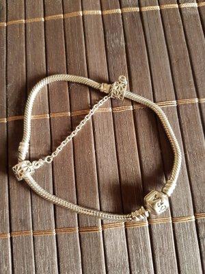 Original Pandora Armband mit Sicherheitskette 18 cm