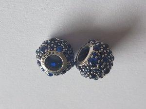 Original Pandora Bead glitzernde Tröpfchen blau