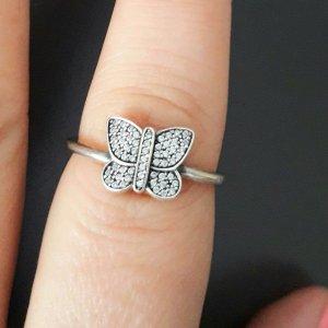 Pandora Zilveren ring wit-zilver Zilver