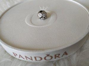 Pandora Bedel wit-zilver Zilver