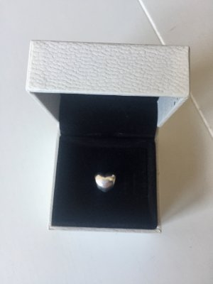 Original Pandora Charm Herz aus Sterling Silber.