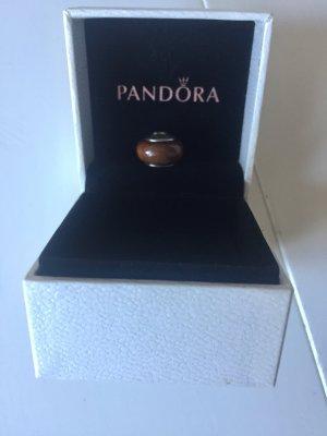 Original Pandora Charm Holz. Kaum getragen, wie NEU, hochwertige Qualität, echtes Silber 925 Ale.
