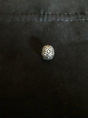 Pandora Bedel wit-lichtgrijs Zilver