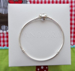 original Pandora Herz Armband Länge 20 cm aus 925 Sterlingsilber