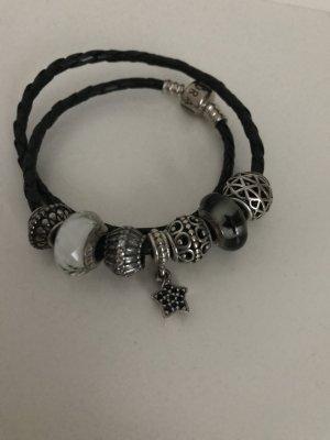 Original Pandora schwarz Armband mit Beads