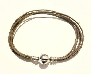 Pandora Bracelet silver-colored-green grey